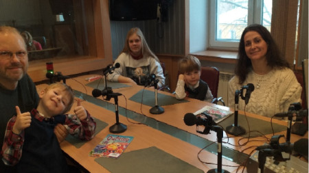 Стела Инчовска, Дирк Ганс и децата им: Клара и близнаците - Лука и Габриел