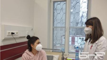 Цветана Димитрова, бъбречно трансплантирана