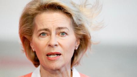 Германският министър на отбраната Урсула фон дер Лайен