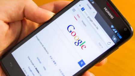смартфон на Huawei с операционна система Android на Google