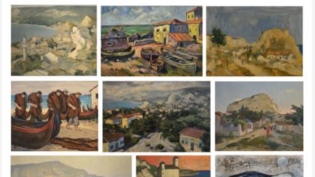 """Приключва проектът на Историческия музей в Балчик за реставрация и консервация на 29 картини под надслов """"Балчик през очите на български художници, творили миналия век"""