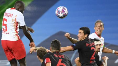 Лайпциг победи с 2:1 Атлетико (М)