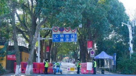 Суджоу, провинция Дзянсу, Източен Китай.
