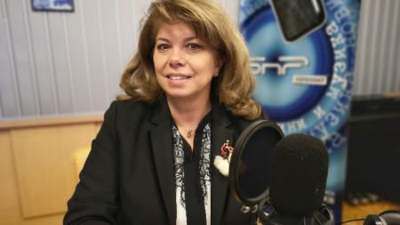 Вицепрезидентът Илияна Йотова в студиото на програма