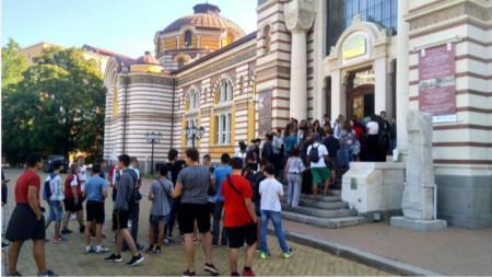 Събитията на 17 септември в музея предизвикваха интереса от сутринта