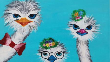 Рисунка на 12-годишната Ирен Йовчева
