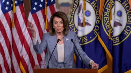 Нанси Пелоси. говорител на Конгреса на САЩ