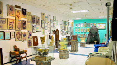 Международният музей на тоалетните в Ню Делхи, Индия