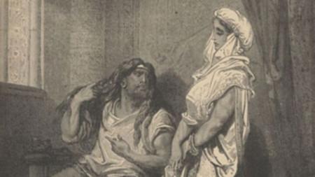 """""""Самсон и Далила"""" (Гюстав Доре, 1860)"""