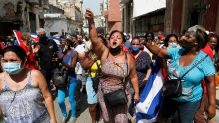 Демонстрация в Хавана