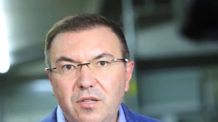 Костадин Ангелов, министър на здравеопазването