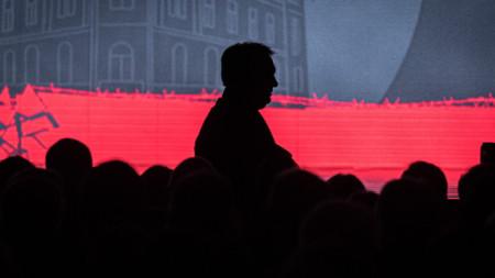 Премиерът на Унгария Виктор Орбан на една от проявите за отбелязване на годишнината в Тимишоара.