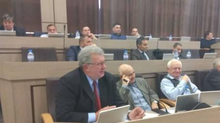Георги Дражев на новото си място в общинския съвет