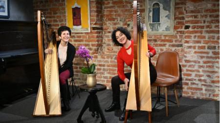 Кохар Андонян и Илияна Селимска репетират за концерта