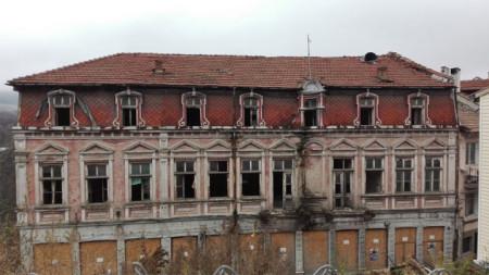 Das Zar-Boris-Hotel in Weliko Tarnowo