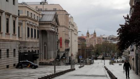 Мадрид под карантина