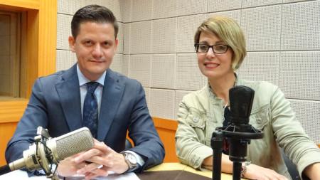 Димитър Маргаритов ще седне на стола на водещата Биляна Славчева в рубриката
