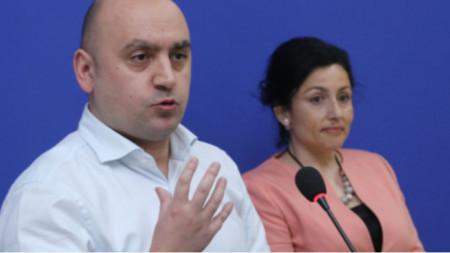 Vasil Grudev y Desislava Táneva