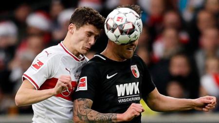 Бенжамен Павар (вляво) ще играе за Байерн от лятото.