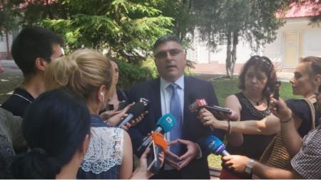 Defence Minister Georgi Panayotov