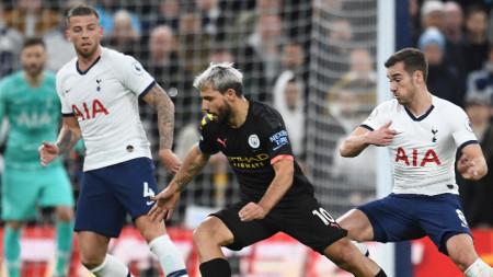 Манчестър Сити загуби с 0:2 гостуването си на Тотнъм