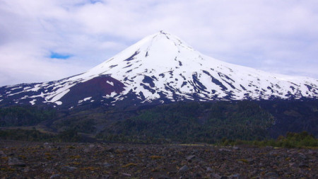 Вулканът Лайма в Чили