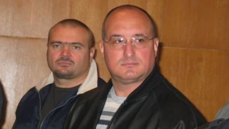 Пламен Галев и Ангел Христов, известни като братя Галеви