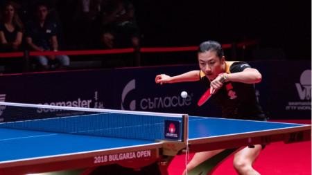 Олимпийската шампионка Дин Нин от Китай спечели титлата в Панагюрище през 2018 г.