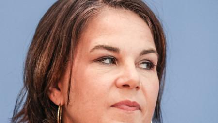 Аналена Бербок от партията на Зелените