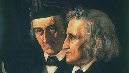 Братята Якоб и Вилхелм Грим, едни от най-известните разказвачи на приказки в света.