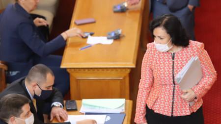 Министърът на земеделието Десислава Танева отговори на въпроси на редовния парламентарен контрол в Народното събрание – 29 май 2020 г.