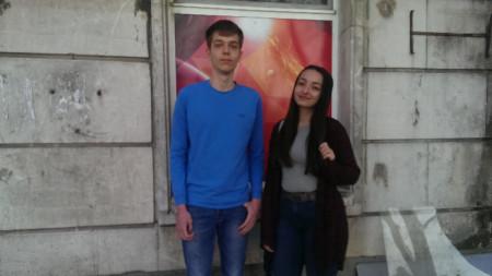 Глория Маркова и Ивайло Каменов