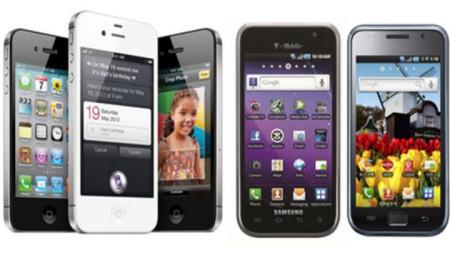 смартфони на Apple и на Samsung