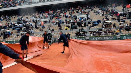 Вероятно тази година повече тенис няма да се играе.