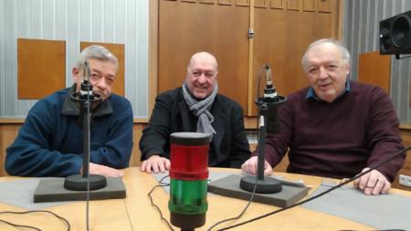 Иван Момчев, Емил Янев и Людмил Станчев (от ляво надясно)