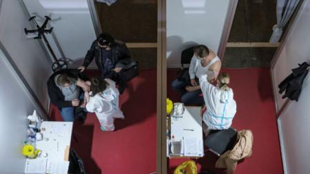 Ваксиниране в Белград