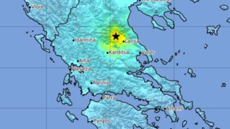 Силно земетресение разлюля района в сряда.