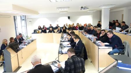 Заседание на Общинския съвет в Несебър
