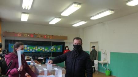 Новият кмет на община Баните  Павлин Белчев