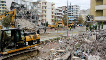 Дуръс след земетресението на 26 ноември 2019 г.