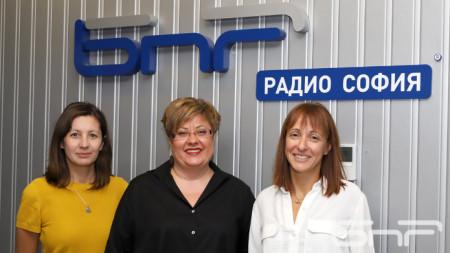 Дарина Георгиева, Катя Василева, Надя Синигерска