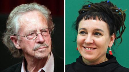 Петер Хандке и Олга Токарчук - Нобел за литература за 2019 и 2018