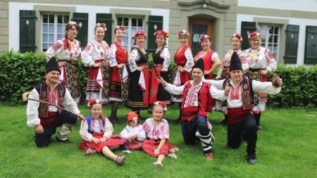 Български танцов състав в Берн