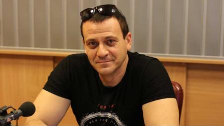 """Желяз Турлаков в студиото на """"Нашият ден""""."""