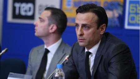 Димитър Бербатов ще се кандидатира за президент на БФС.