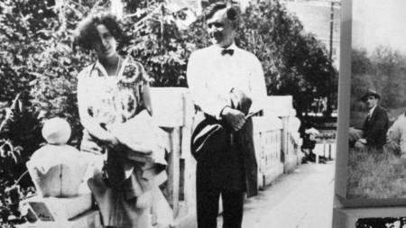 Чудомир с Мара Чорбаджийска 1929