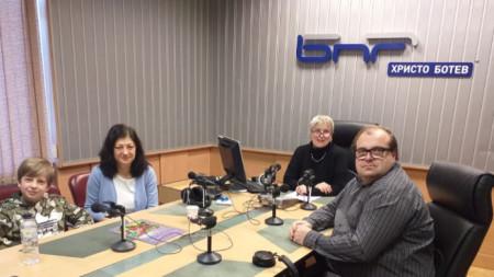 Алек, Светослава Кузманова, Веселина Даковска и Николай Христов