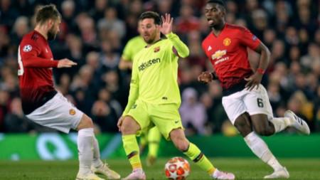 Барселона победи като гост Манчестър Юнайтед с 1:0
