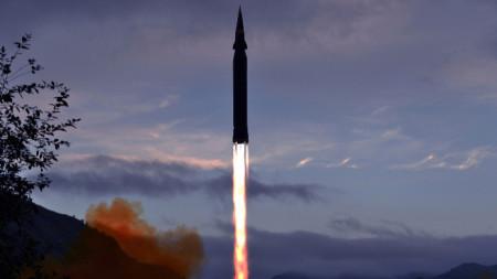 Хиперзвуковата ракета на КНДР