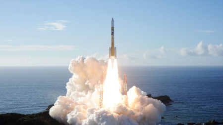 Изстрелване на ракетата